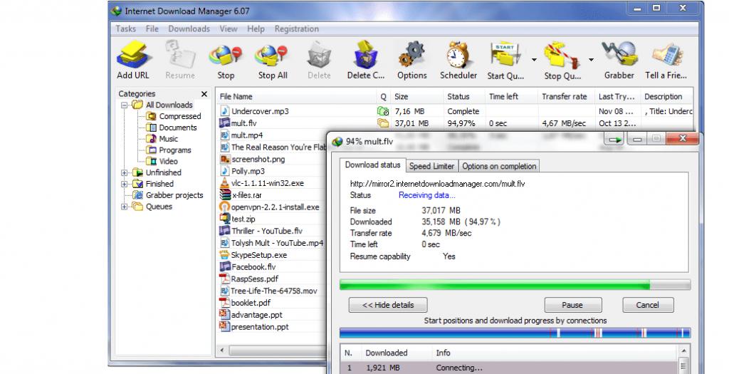 IDM 6.36 Crack Build 1 + Serial Keys Full Version