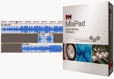 NCH MixPad Masters Edition 5.75 Crack + Latest Update 2020