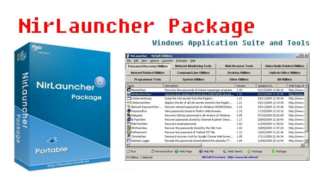 NirLauncher Package 1.23.14 With Crack + Keygen Latest 2020