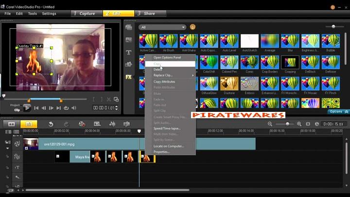 corel video studio free download full version with crack