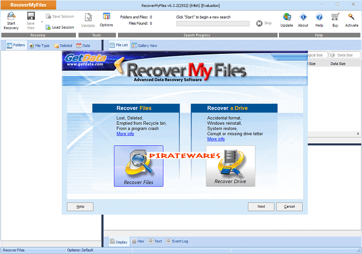 recover my files free download with crack