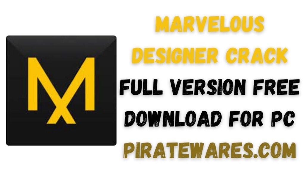 Marvelous Designer Crack Full Version Free Download For PC